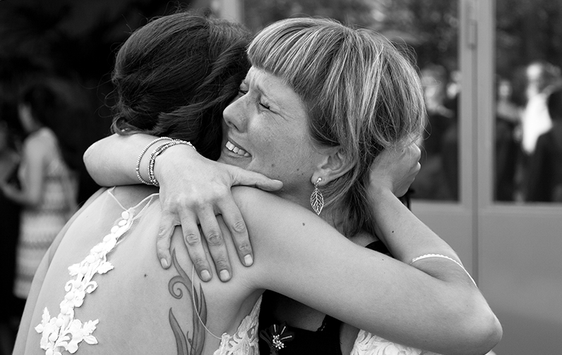 Emotionale Hochzeitsgratulationen - Hochzeitsreportage - Hochzeitsfotografen Basel